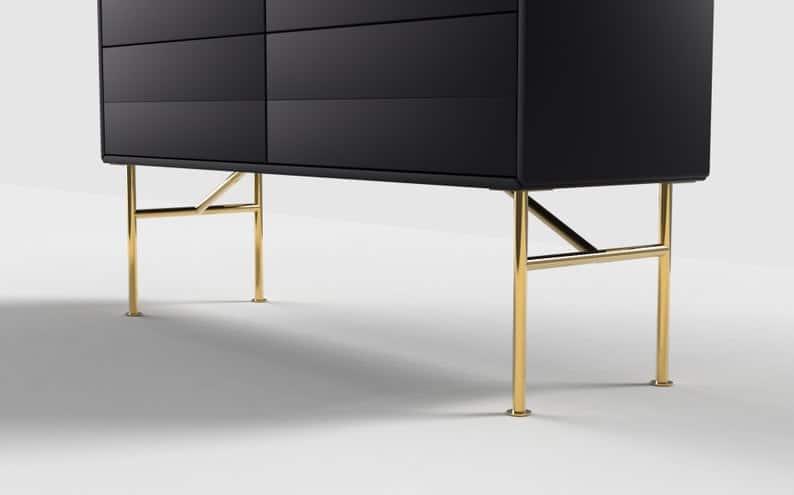 12 & # 39; & # 39;Золотые ножки для мебели и кофейного столика