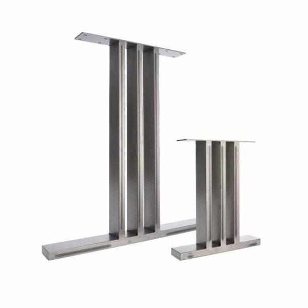2 х ножки стола - Промышленные Особенности Тумба в Steel