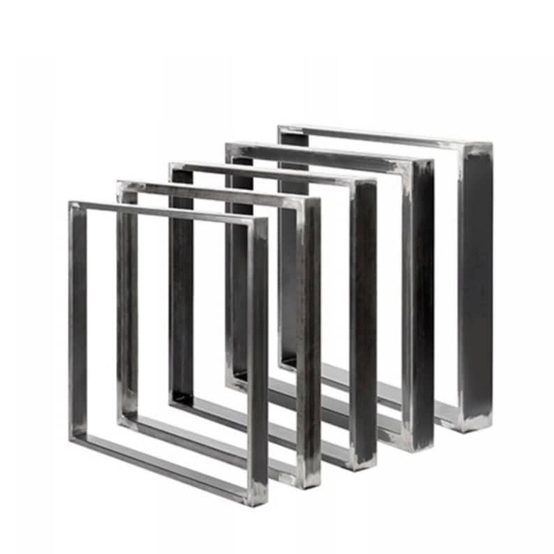 2 х Таблица / Bench Ножки конструктор Metal СТАЛЕПРОМЫШЛЕННАЯ Столовая / Bench / Офис / Рабочий стол
