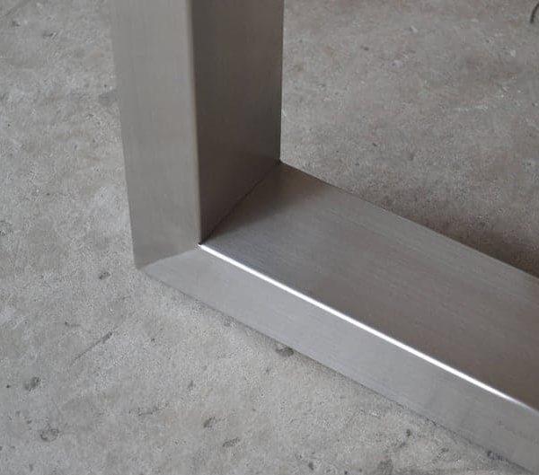 Подстолье для стола из нержавейки с цельным основанием YX18