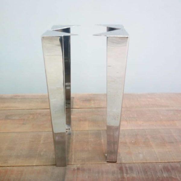 28 & Quot;Угловые ножки для современного обеденного стола, высота 26 & quot;- 32 & quot;Комплект (4)