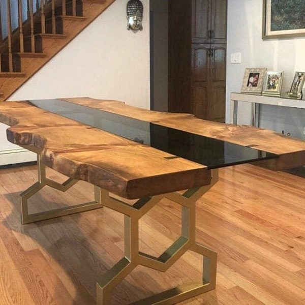 28 & Quot;Ножки обеденного стола, металлические ножки стола, стальные ножки, набор из 2