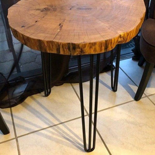 28 & Quot Шпилька ножки стола высокого качества штанга 12 мм, высота 26 & Quot 32 SET (4) любой цвет