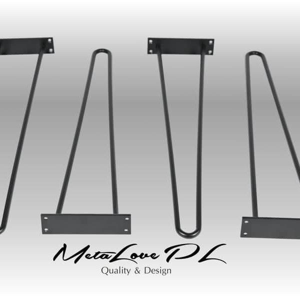 28 & Quot Шпилька ножки стола высокого качества, 2 штанга 12 мм, высота 26 & Quot 32 SET (4)