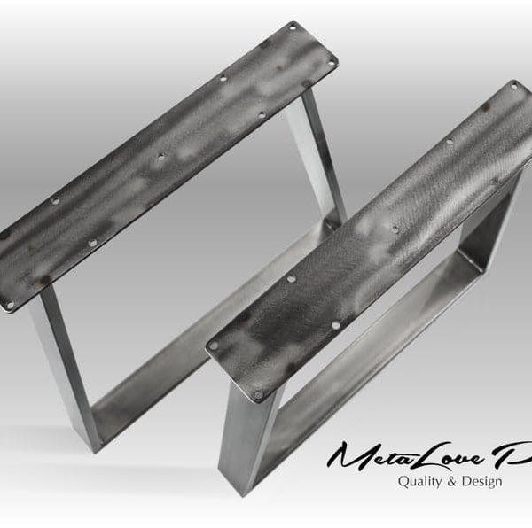 28 & Quot VEX 80.20 Трапециевидная ножки стола, обеденным столом ноги, письменный стол ноги, Металлические ножки стола с порошковым покрытием, высота 26 & Quot - 32 & Quot НАБОР (2)