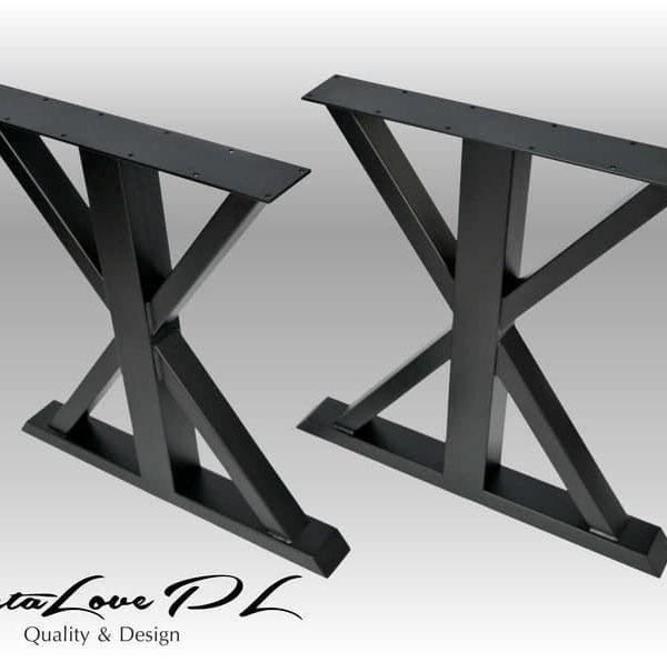 Подстолья для тяжелых столешниц под обеденный стол ПДС18