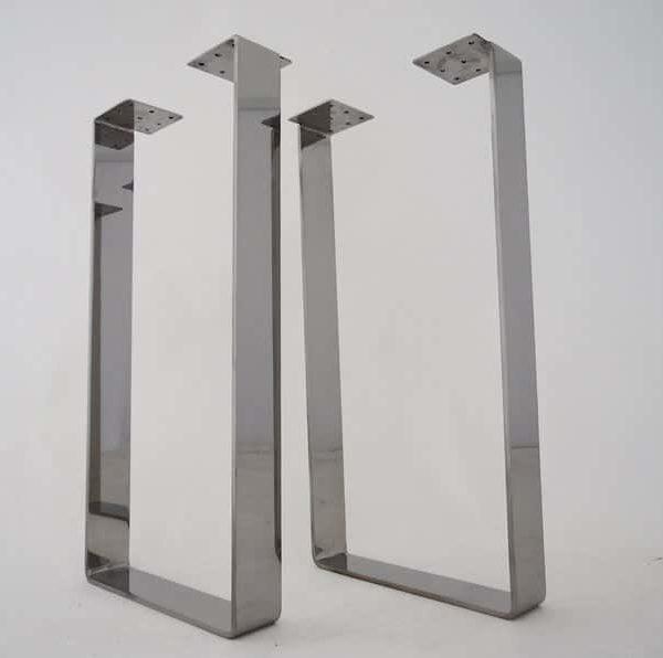 Подстолье нержавеющая сталь квадратное MN01