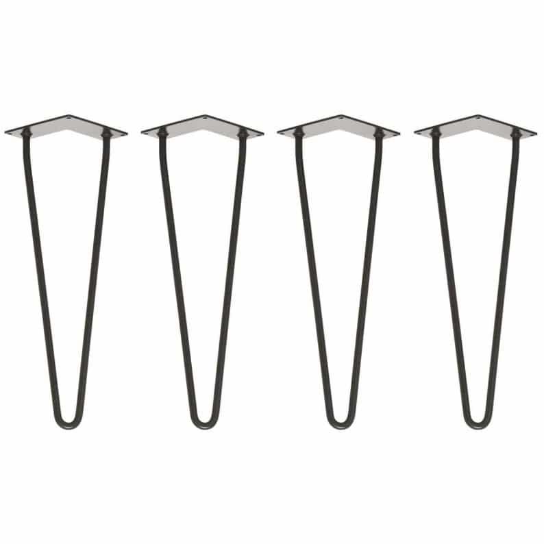 41см сталь Шпилька Нога - Bench / места - Набор из 4 - Всех цветов