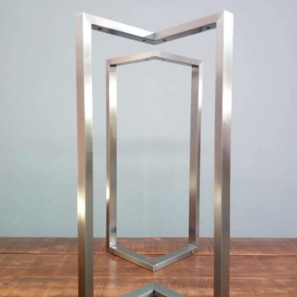 Барные ножки из нержавеющей стали, кронштейн из нержавеющей стали (2)