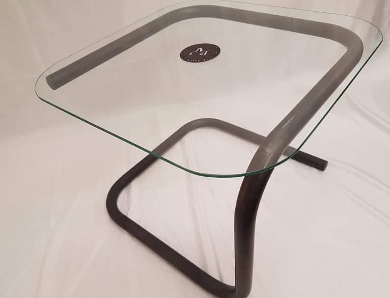 Bellisimo Однооборотный Leg Журнальный столик металла с бронзового эффекта Финиш Handmade в территории Великобритании из одного куска металла Бесплатная доставка