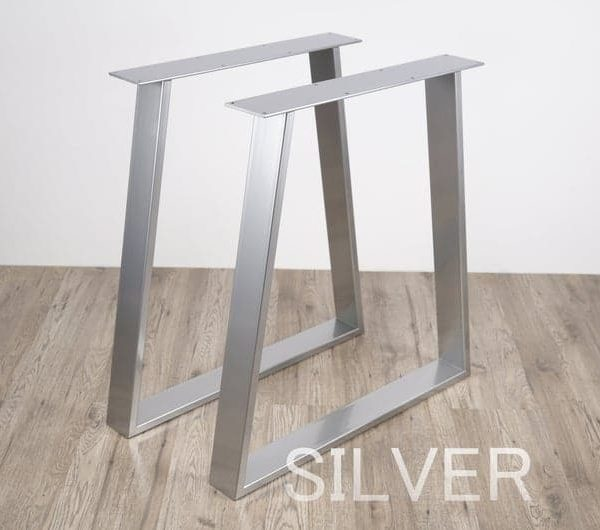 Подстолье металлическое для столов полированное XX07