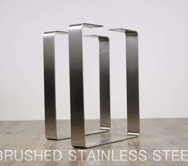 Подстолье для стола из нержавейки прямоугольное YX14