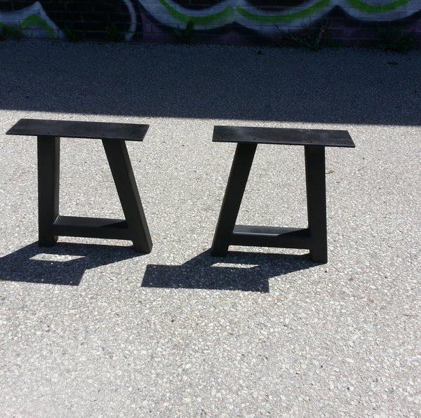 Стенд / черный стул Сталь & Quot, A & Quot Стиль Ноги