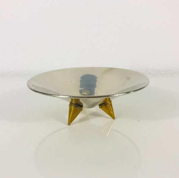 Brass Ноги штатива металлический шар - Хоппер Shape - Германия 1960-е годы