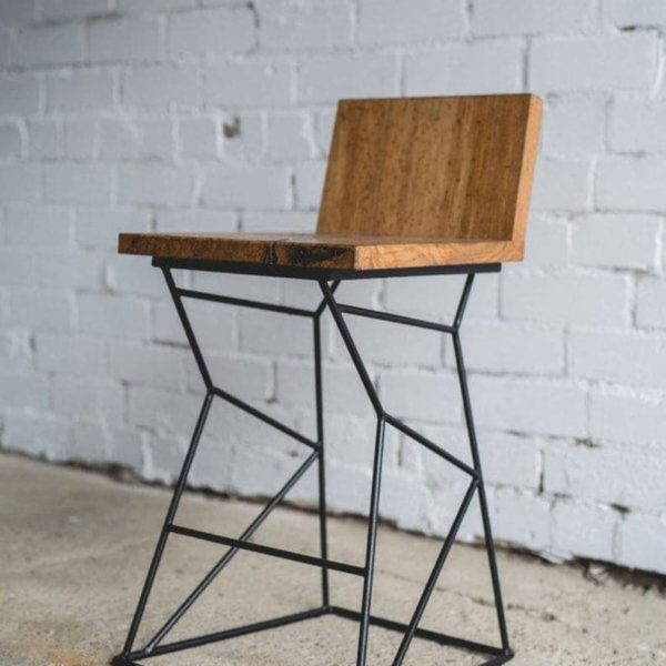 Стул / бар стул / Кухня стул / кресло / Металлические ножки / Деревянная мебель / Steampunk мебель / Декор для дома подарок / Новоселье