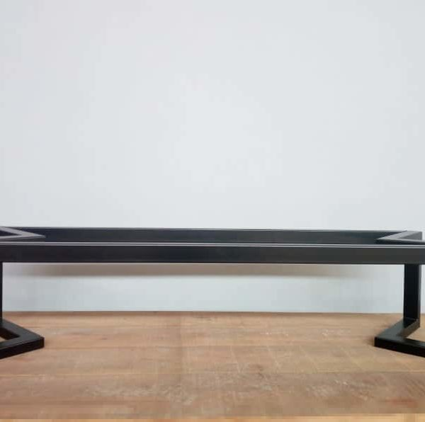 """Журнальный столик, 16 """"H x 20 • W x 48 • L Основание брекет-стола, высота 14 & # 39; -20 & # 39; & # 39;"""