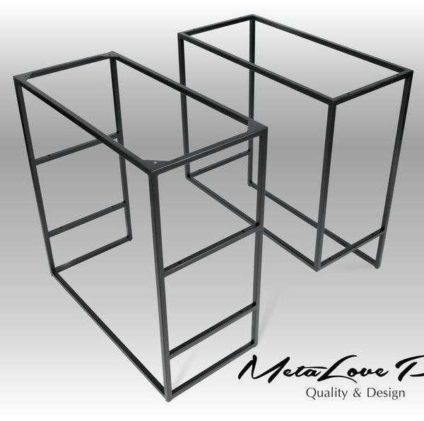 Стол база, промышленный рабочий стол, сделай сам, база, современный, MILO 16.16 стол Ножки