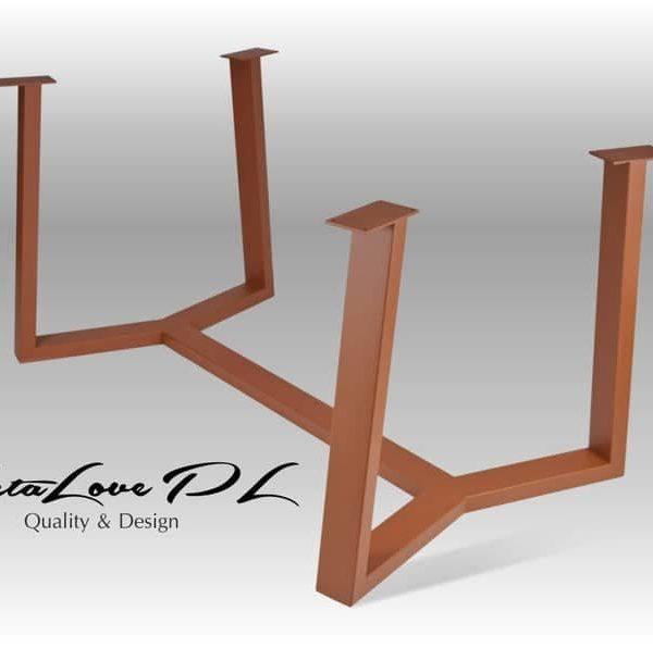 Столовый стол, Кухня, Сделай сам, дерево и стекло, YAKI 80,40 COPPERTable Base,