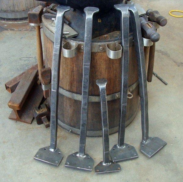 Кованый металл Таблица Нога Набор (комплект из 4)