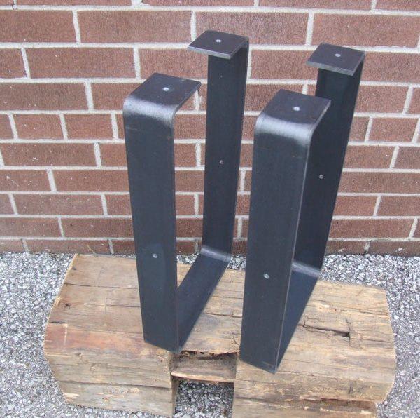 Бесплатная доставка - Raw Steel & Quot U & Quot Стиль Ноги - Свободный CAN Доставка 50% от США Доставка