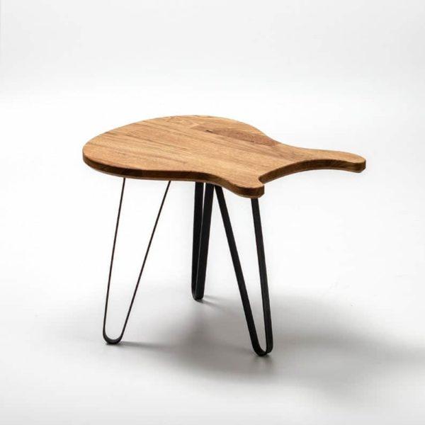 Гитара Таблица Paulus - Дизайн мебель - Solid Oak Wood - Металлические ножки - гитара Art - Журнальный столик - Подарок - Гаджет - Дизайн интерьера - PRS