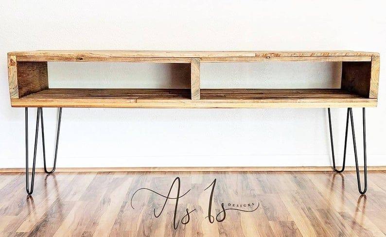 Шпилька ножка Журнальный столик, Приставной стол, развлекательный центр, Середина века Современная мебель, ар-деко, промышленный дизайн