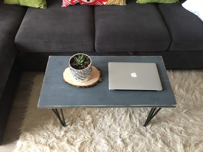 Шпилька стол ноги, промышленный Декор, Сельский Декор, Промышленные трубы, ручной работы, промышленный деревянный, металл журнальный стол, исправленная Ретро