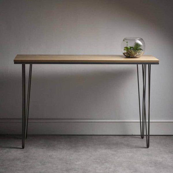 Шпилька Дуб Side Table - нестандартные размеры в наличии - MADE IN ENGLAND