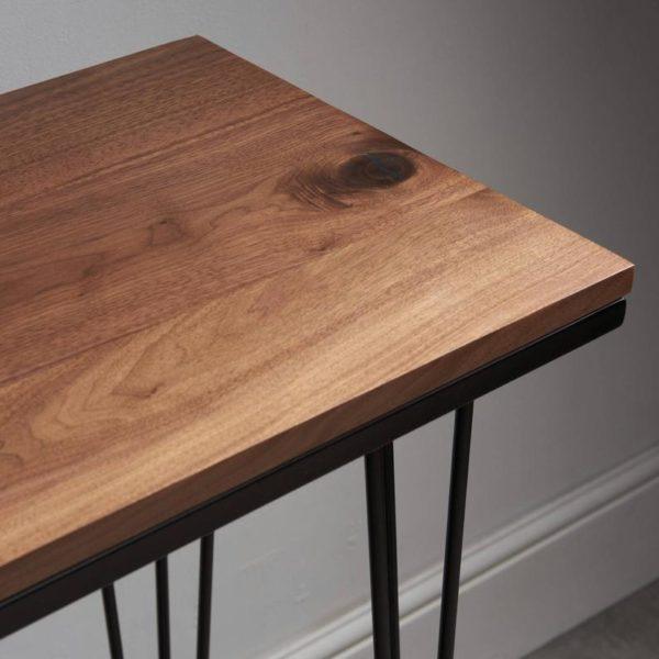 Шпилька Приставной стол Орех