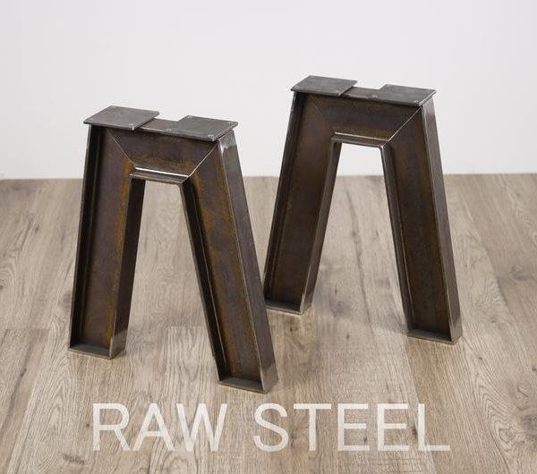 Промышленная скамейка Нога, форма скамейки нога, скамейка Нога, скамейка нога, Ноги, журнальный столик нога, ножки стола, форма ножки стола, Набор 2