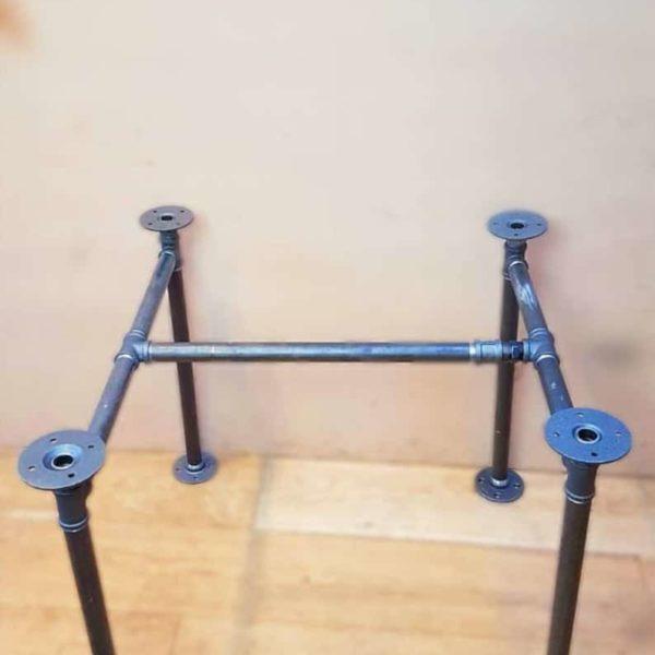 Промышленные трубы Декор Ножка, Аутентичные Промышленные Чугуны Фитинги для пользовательского Vintage Столов и мебель украшение DIY Ферма
