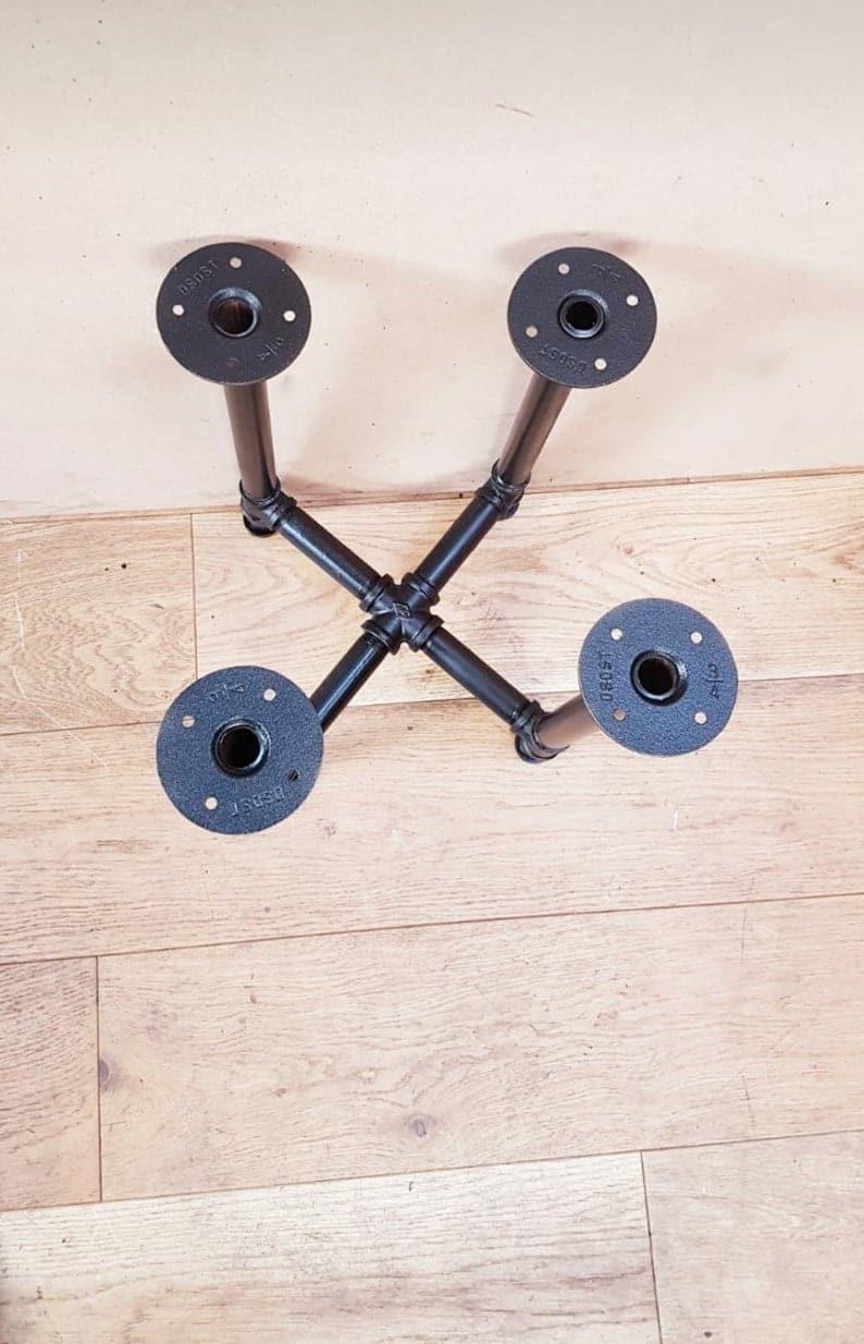 Промышленный стол трубы ножка, Urban Industrial Decor ножки стола / Дом Кухня Декор