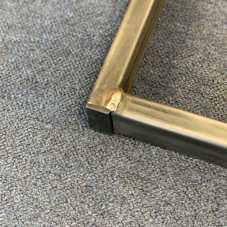Промышленной Таблица Нога Металл Bench Сторона Кофе Мебель Стол / Бар / Ресторан TL011