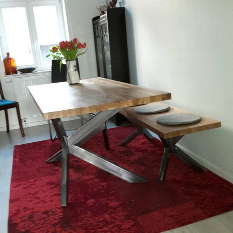 Промышленные ножки стола, Современная, столовый стол, DIY, SPIDER 80.20Unique Ножка
