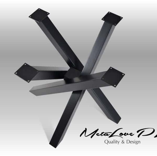 Подстолья для тяжелых столешниц под круглые, овальные столешницы ПДС34