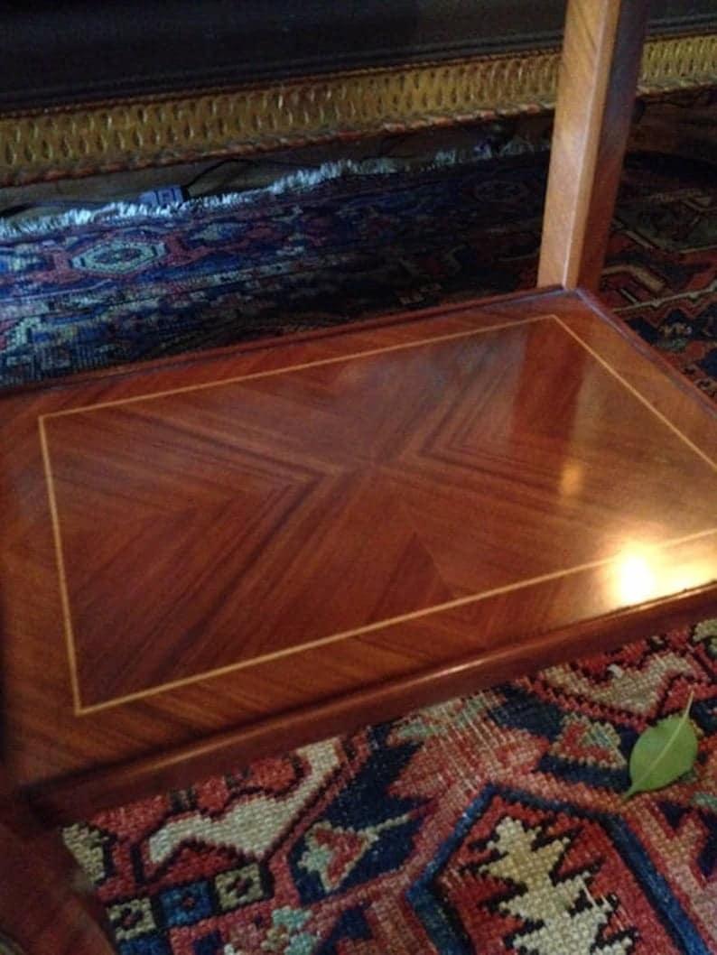 Инкрустированные Журнальный столик, стиль Людовика XV