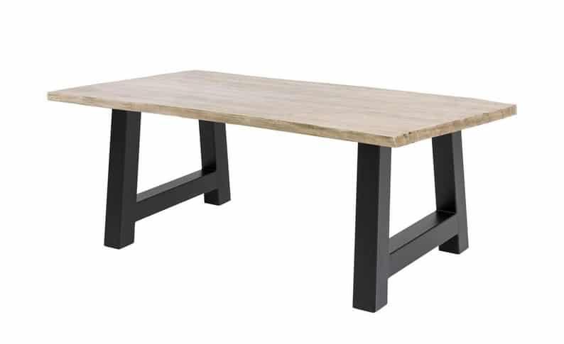 """Ножки для стола 28 & quot;Ножки стола в виде рамки, высота 26 """"- 32 & quot;Набор (2)"""