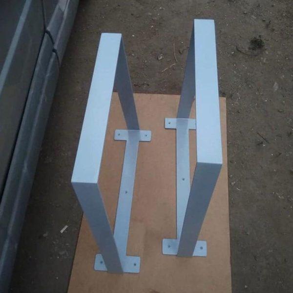 Ножки для настольной высоты, ширина от 18-45 дюймов (30-120см) Ножки настольного кронштейна, широкая база, высота 18 & quot;- 45 & quot;Установлен