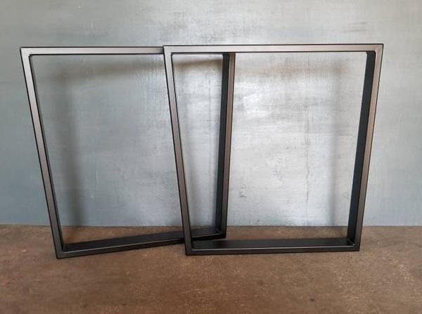 Металлическое основание Трапециевидный Стиль Up для продажи Идеально подходит для обеденного стола Base, ножки стола Set of 2