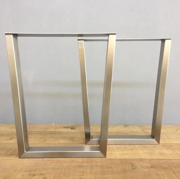 Подстолье для стола из нержавейки прямоугольное YX11