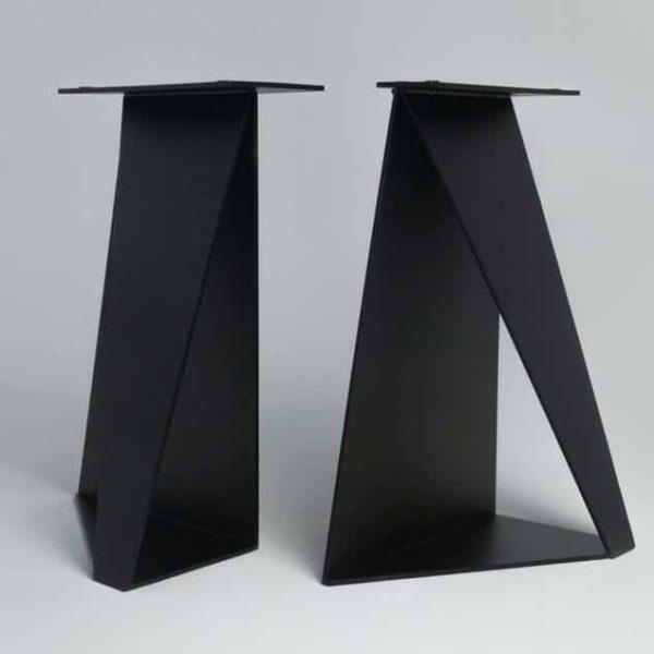 Металлические Обеденные Ноги, Душ Ноги (Набор 2) - хребет окорока в стали