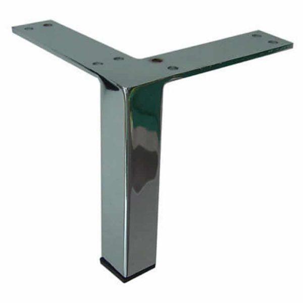 Металлическая мебель Нога диван Мебельные ножки, 5 & Quot , Матовый сатин никель, хром и матовый латунь Отделка L Top, DIY современный, уникальный, доступный 4PC