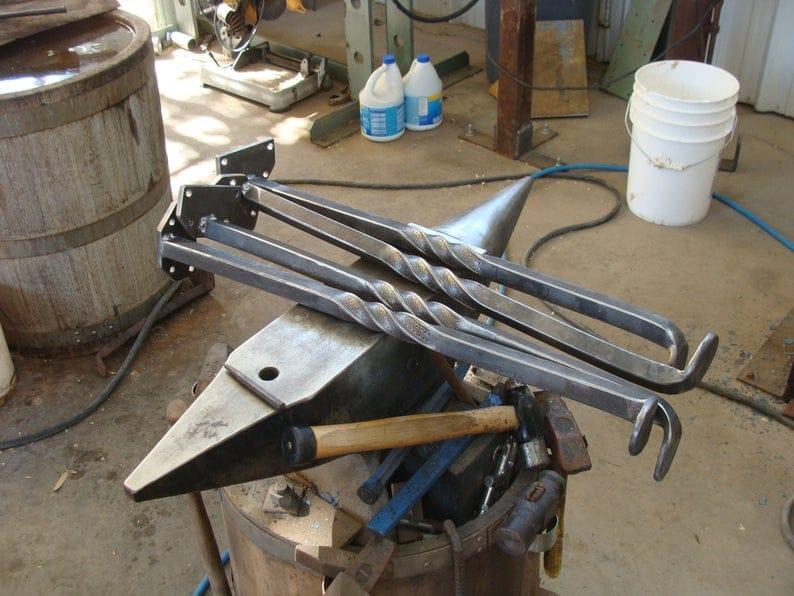 Металлическая ножка Набор кованых Железо