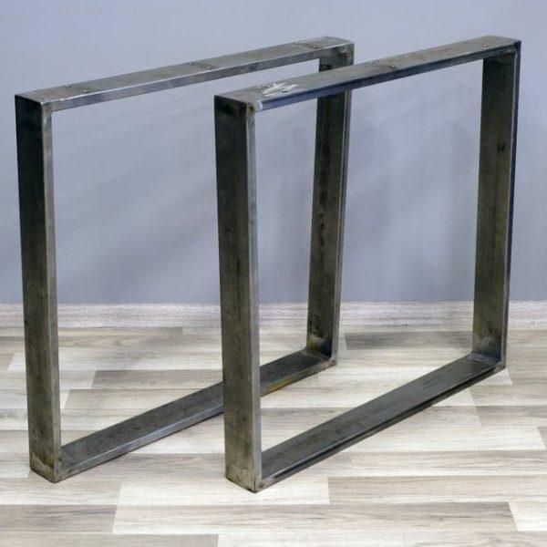 Подстолье из металлических труб квадратное WE08