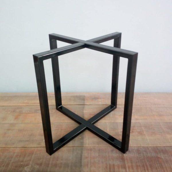 Подстолье для овального стола стальное BT04