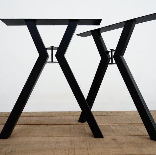 """Металлические ножки стола, 28 """"MOD ножки стола, высота 26 """"- 32 & quot;Набор (2)"""