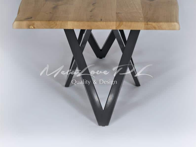 Современная настольная подставка, пьедестал, обеденная подставка, металлическая подставка с порошковым покрытием VIVO 60.30
