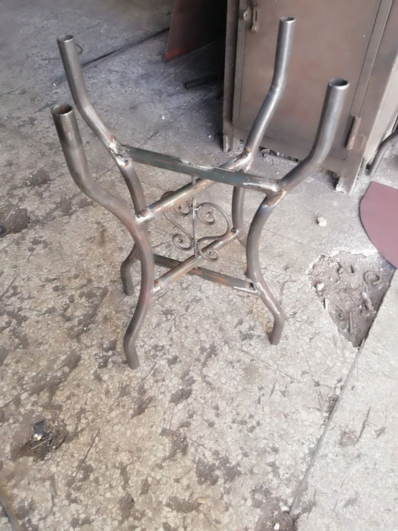 Марокканский стол - металлический каркас - рама стола железо - железный каркас для стола
