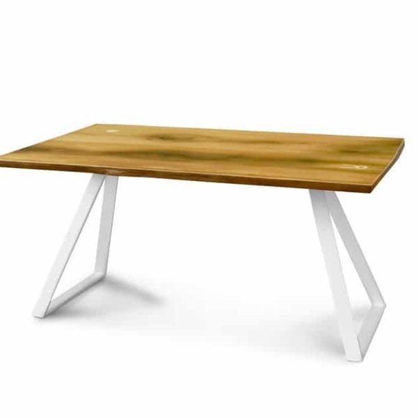 Природный обеденный стол, персонализированный деревянный стол, современный стол, Сельский офисный стол, стол из массива, изготовленный на заказ стол, Мебель ручной работы