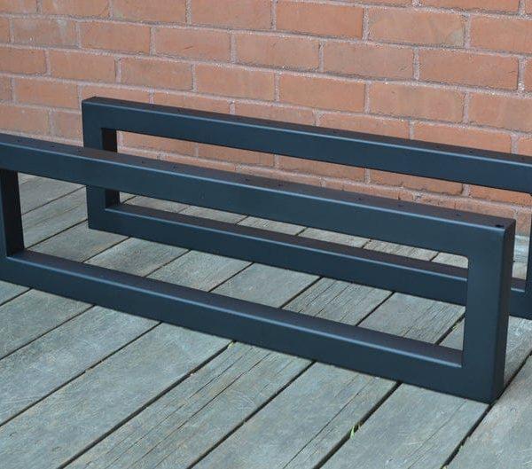 Пара Heavy Duty Metal Ножки, США Сделано, журнальный столик ноги, ножки мебели, скамейка ноги, стол ноги, Середина века современный, Главная
